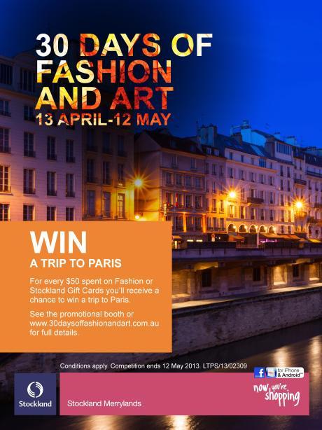 30 Day - Paris Colour