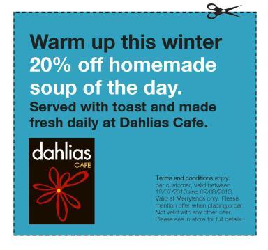 Food vouchers_Dahlia's